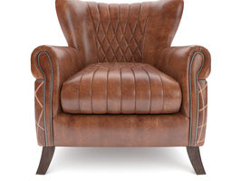 3D Armchair Vintage Country