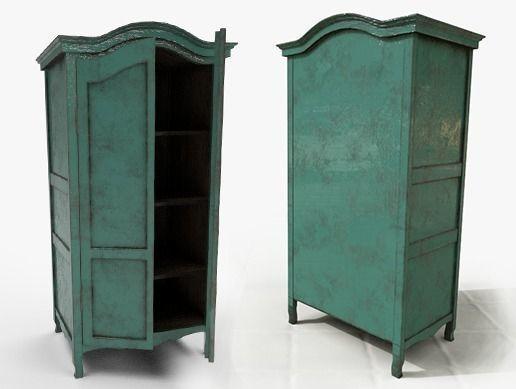 cupboard 3d model max obj mtl fbx tga 1