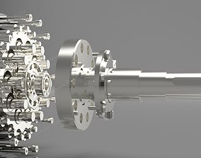 Cyclo Gear Engineer 3D asset