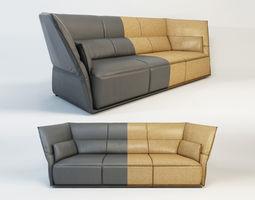 3D model POLTRONA FRAU Almo by Garcia Cumini - sofa 3