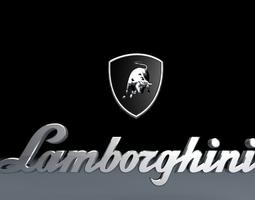 Lamborghini Logo Wallpaper 3d 3D Models