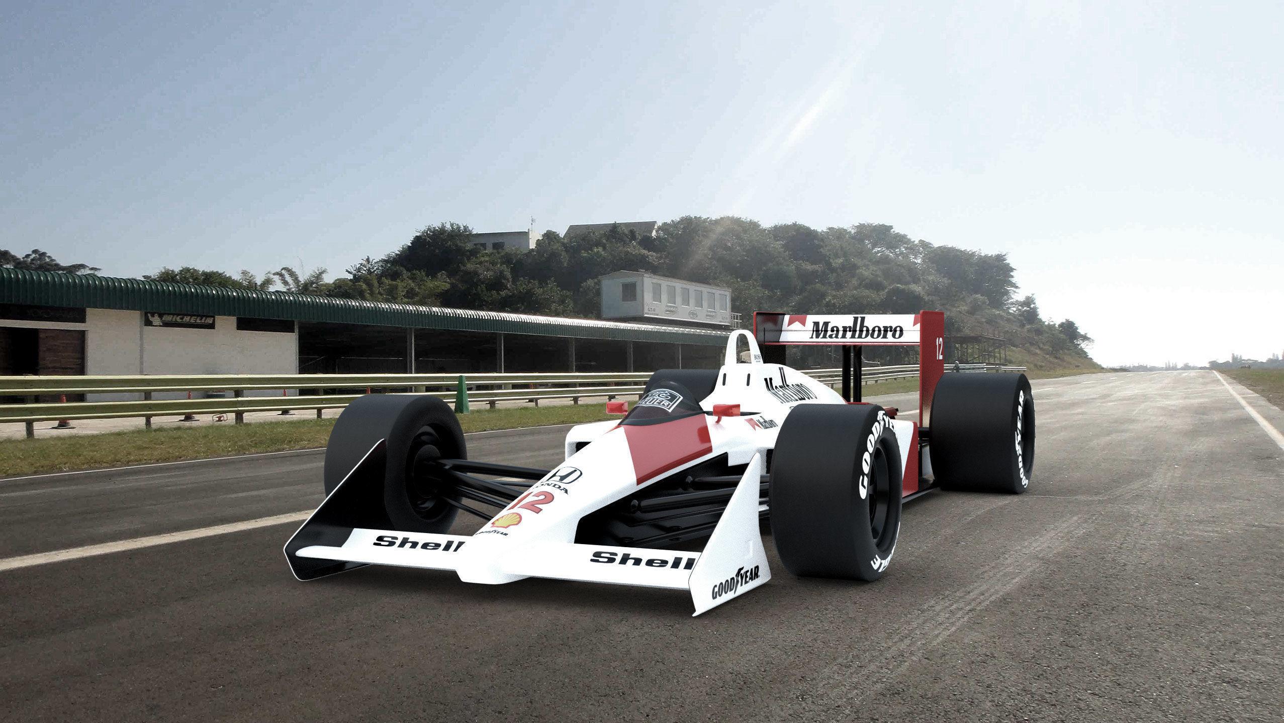 Classic Formula one McLaren
