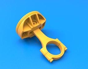 3D Printable Piston Assembly