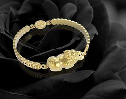 327 Lucky Pi retirement bracelets 3D print model