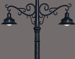 3D Street Lamp PBR