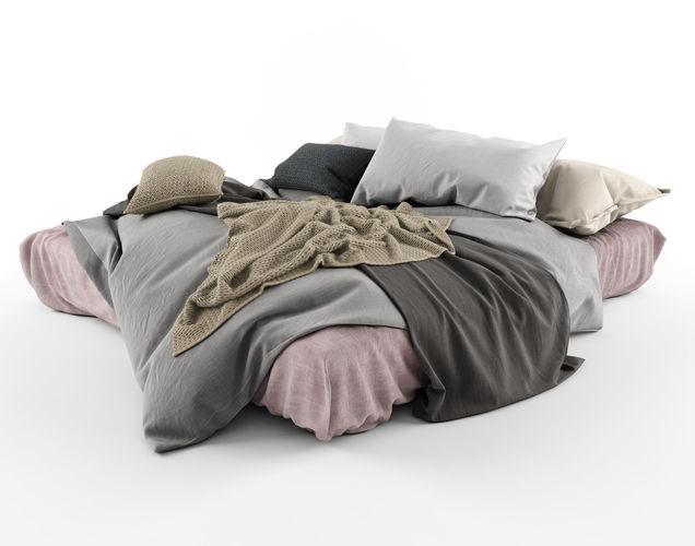 loft bed 01 3d model max obj mtl 1