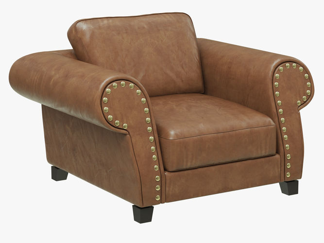 Roche bobois variations armchair d model cgtrader