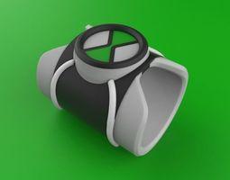 omnitrex ben ten 3d model