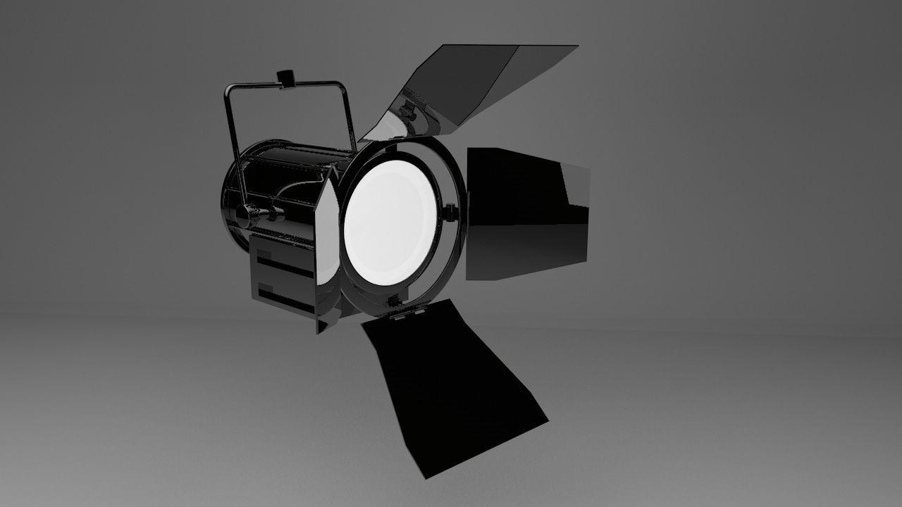 Studio Lamp - studio light 3D model | CGTrader