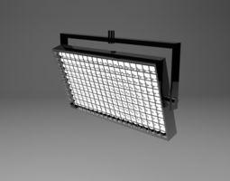 LED studio lights 3D