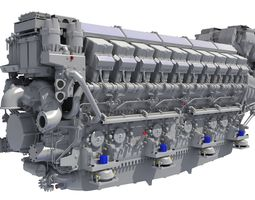 Propulsion Engine - 3D Engines navy