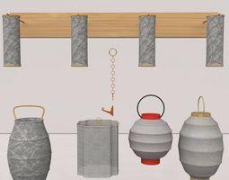 lantern Cochin Collection 3D model