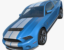 3D Shelby GT500