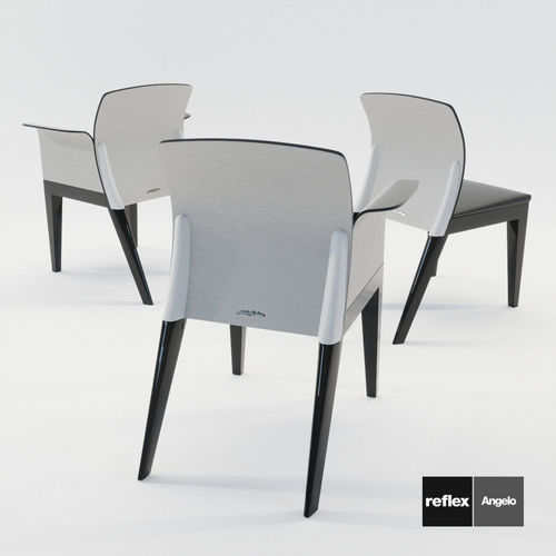 & 3D model Chairs Sit from Reflex Angelo - Design by 1