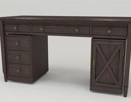 FM-DK08 Desk 3D model