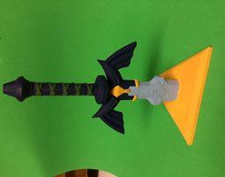 Master Sword Miniature 3D printable model
