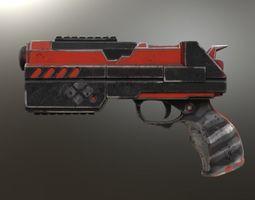 3D print model Harley Quinn Injustice 2 Gun