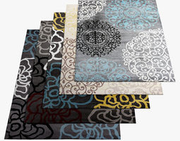 3D Area Rugs 7