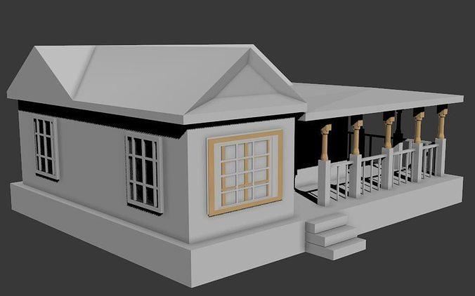 3d house model images