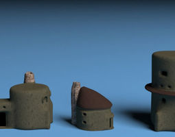 3D model Fantasy houses