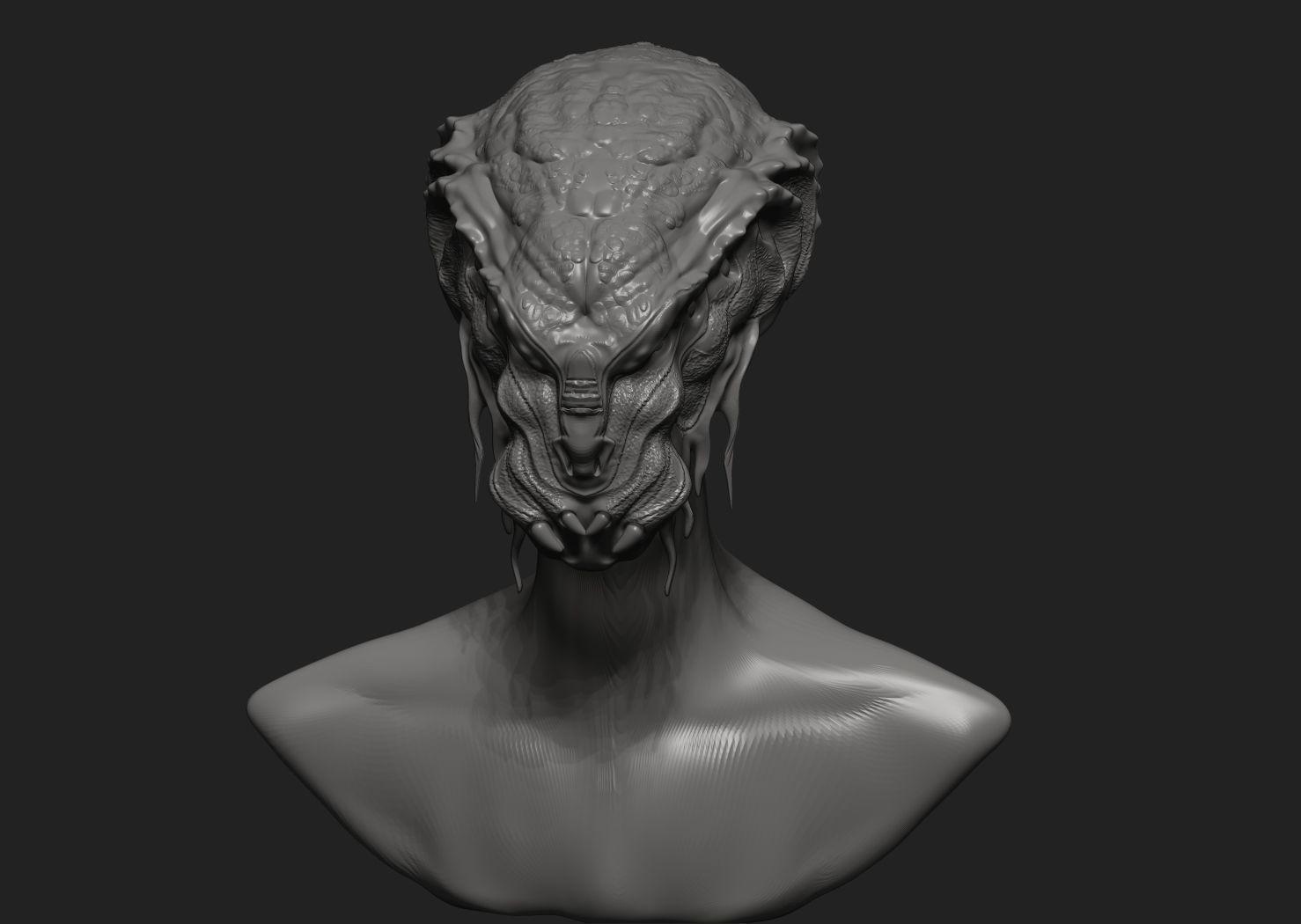 Alien Head 3