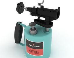Gasoline blowtorch 02 3D