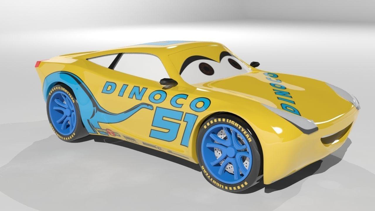 3D model Cruz Ramirez Cars 3 Character | CGTrader