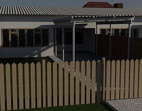 HIGH QUALITY ARCHITECTURAL MODERN BUILDING 3 3D asset