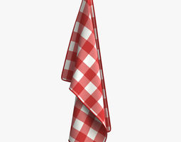 Kitchen Towel - T04 3D hang