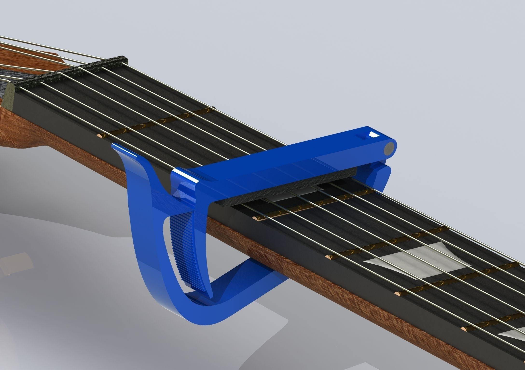 Guitar plastic capo