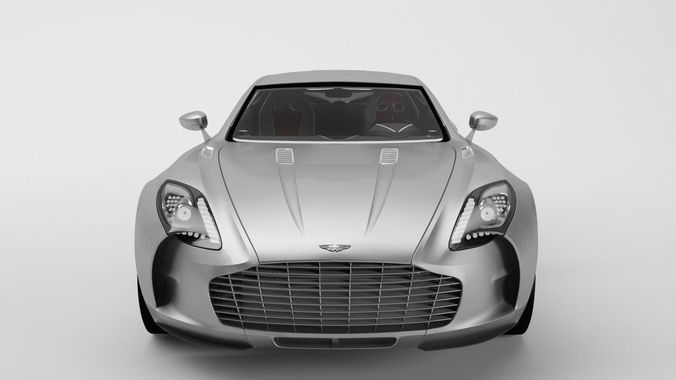 ... Aston Martin One 77 3d Model Max Obj 3ds Fbx C4d Mtl 2 ...