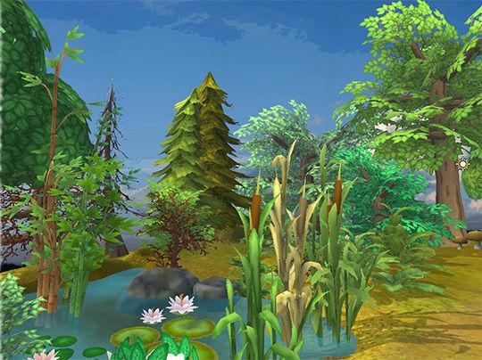 Cartoon Plants Pack | 3D model