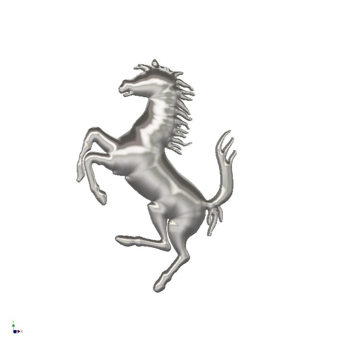 Ferrari horse logo