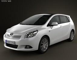 3D model Toyota Verso E Z 2012