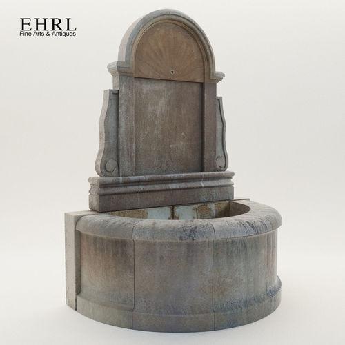 baroque wall fountain - 21th century - ehrl 3d model max obj mtl fbx pdf 1