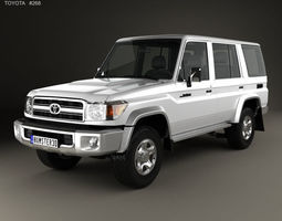 Toyota Land Cruiser 2007 3D