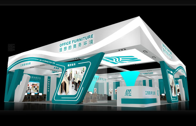 Exhibition Stand Designer Job Description : Exhibition area dmax d model max cgtrader
