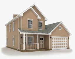 Cottage 11 3D model home