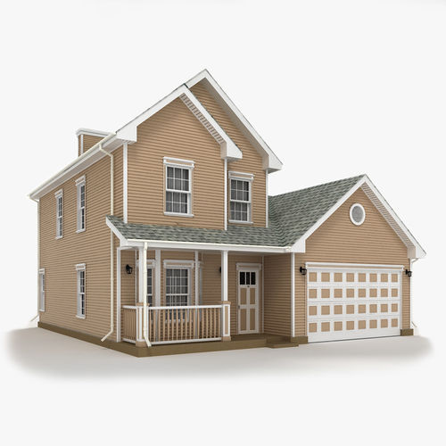 cottage 11 3d model max obj 3ds fbx mtl tga 1