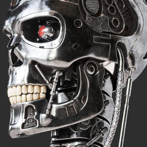 terminator bust 3d model max obj mtl fbx 1
