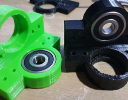 3D print model Corner Bearing Bracket
