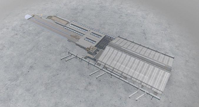 lfmn terminal 1 3d model low-poly max obj 3ds fbx mtl 1