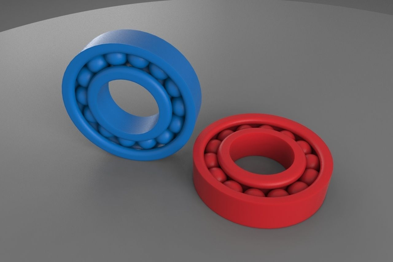 Best Buy Military Discount >> 3D printable Ball Bearing   CGTrader