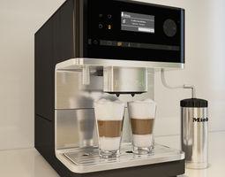 Miele CM 6300 Coffee Machine 3D
