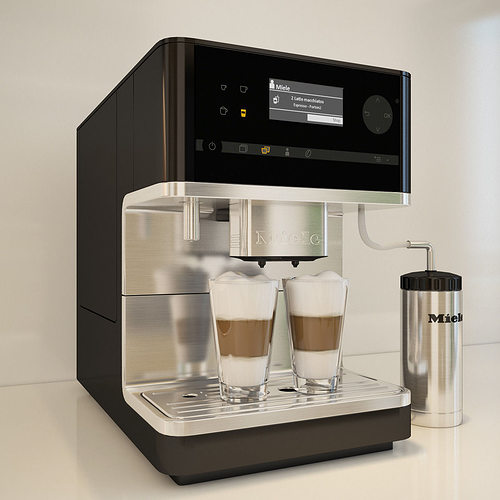 how to clean miele coffee machine