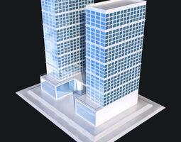 3D asset Skycrapper