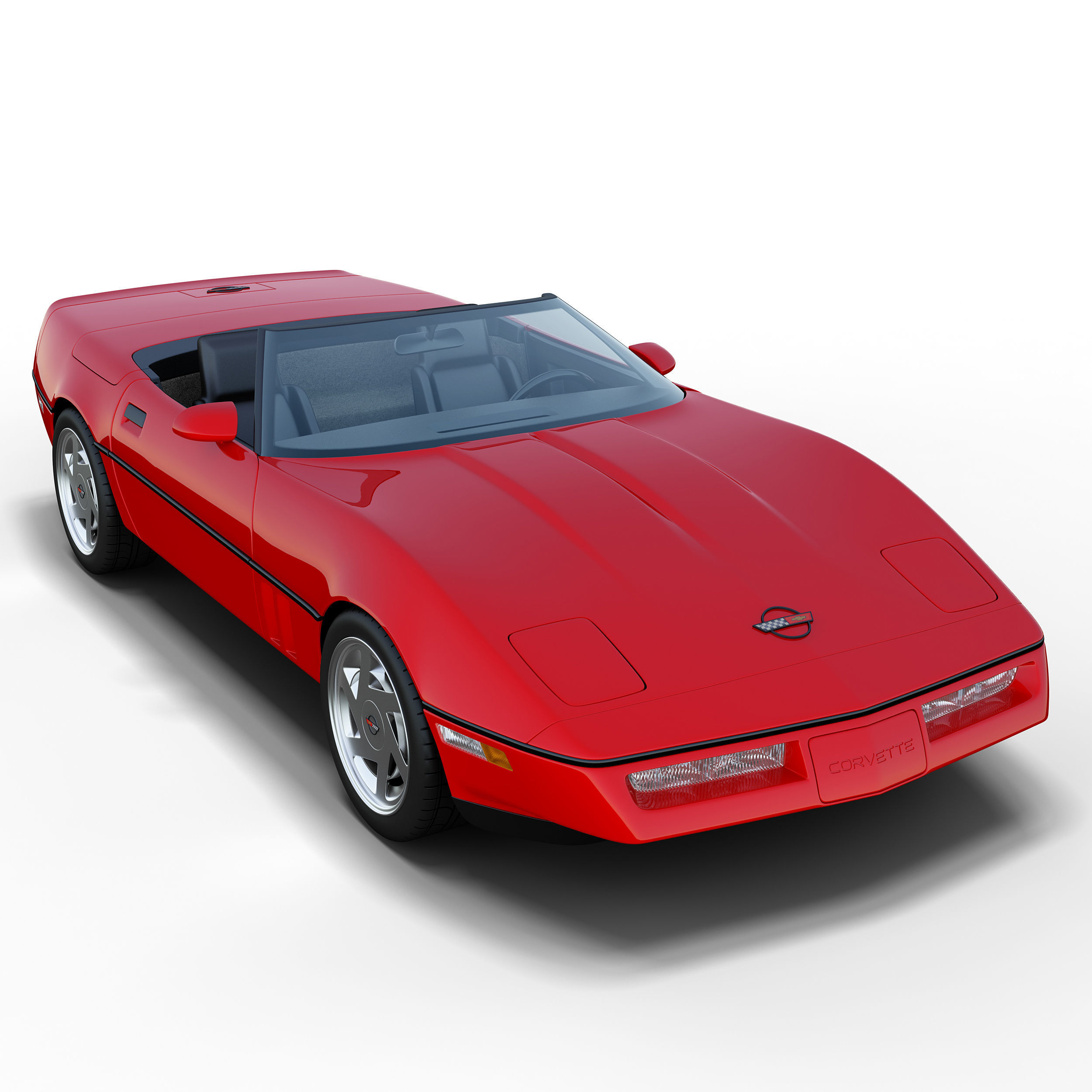 Chevrolet Corvette C4 Convertible Model