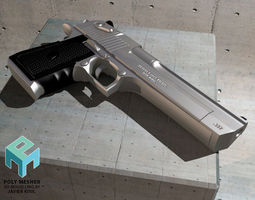 Desert Eagle gun 3D