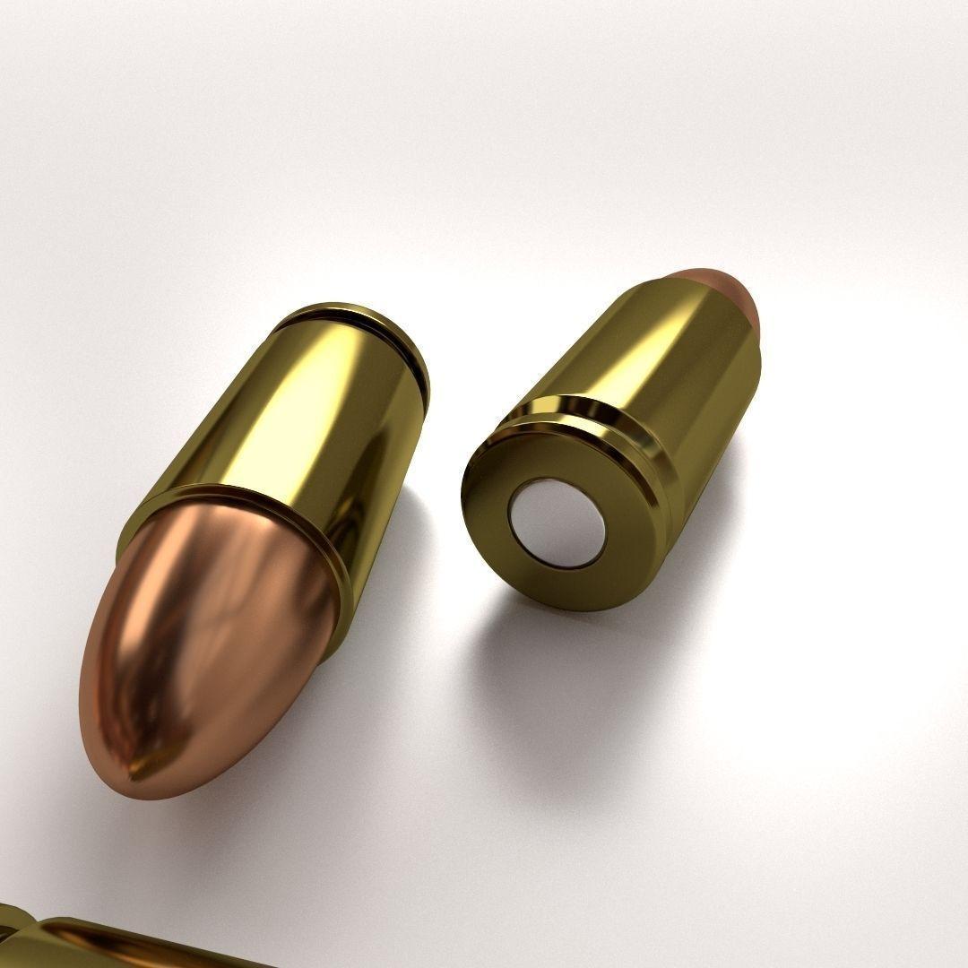 3D model Ammunition 9mm Parabellum | CGTrader