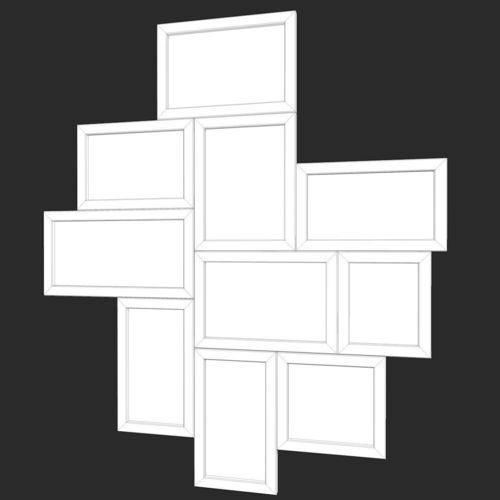 3D asset Photo Frames Collage | CGTrader